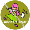 Bacteria Sour Sticker